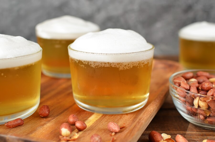 How to serve April Fool's Recipe – A Glass of Beer