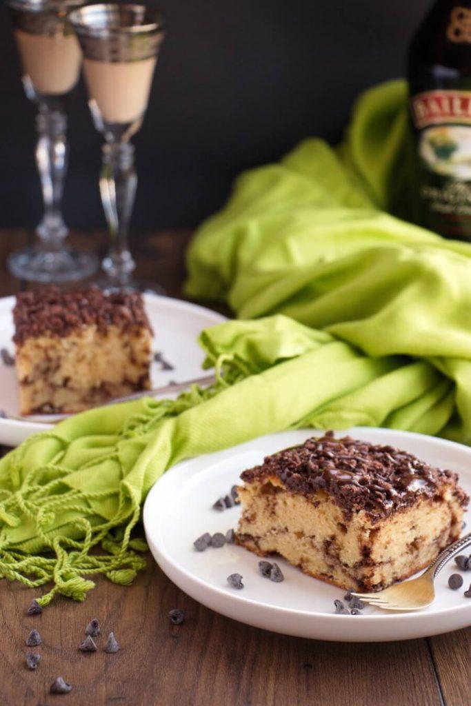 Chocolate, Liquor Coffee Cake