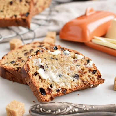 Bara Brith Recipes-Homemade Bara Brith-Easy Bara Brith