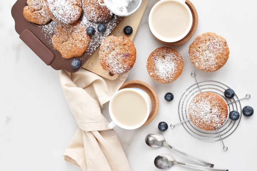 How to serve Berry Cream Muffins