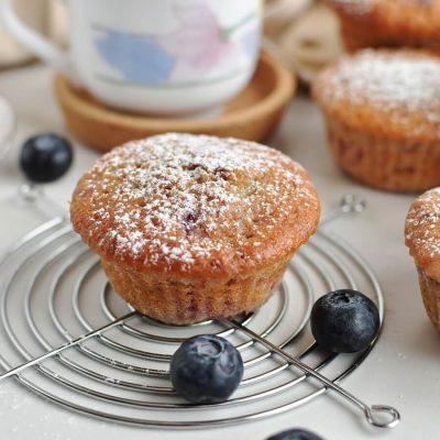Berry Cream Muffins Recipe-Homemade Berry Cream Muffins -Delicious Berry Cream Muffins