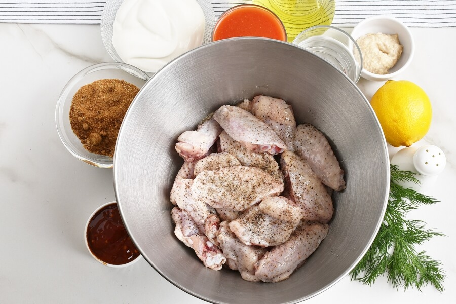 Bloody Mary Wings recipe - step 1