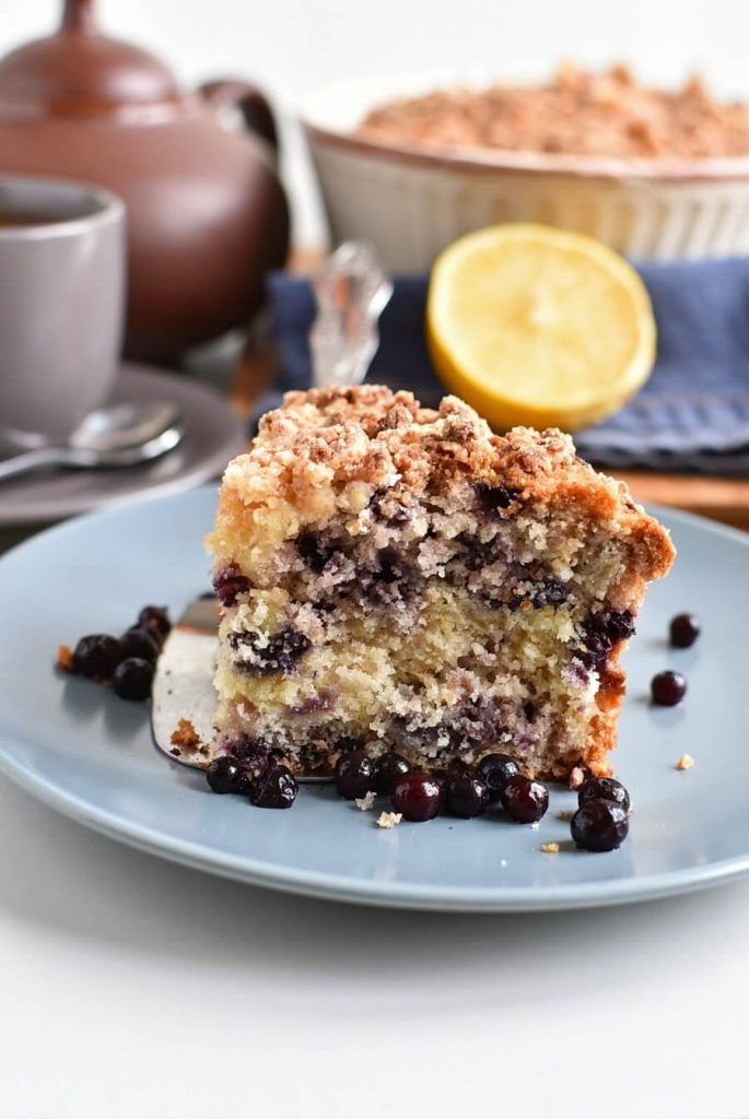 Fruity Mexican Crumble Cake