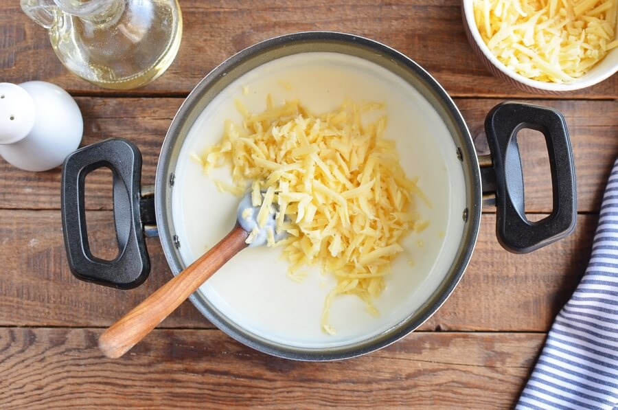 Broccoli Cheddar Stuffed Baked Potatoes recipe - step 7