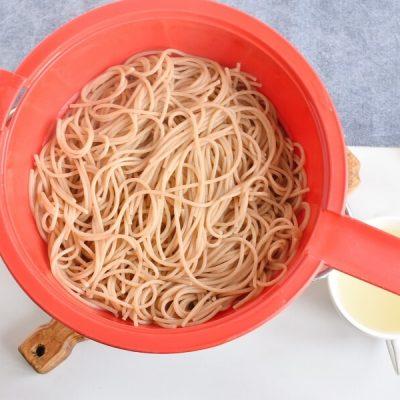 Caponata spaghetti with Eggplant recipe - step 8