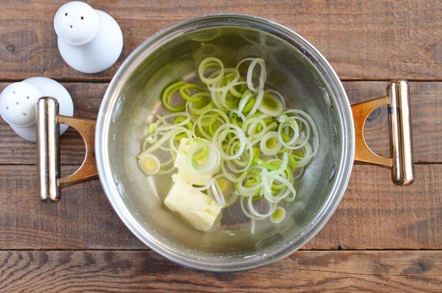 Cheddar Jack Potato Leek Soup recipe - step 2