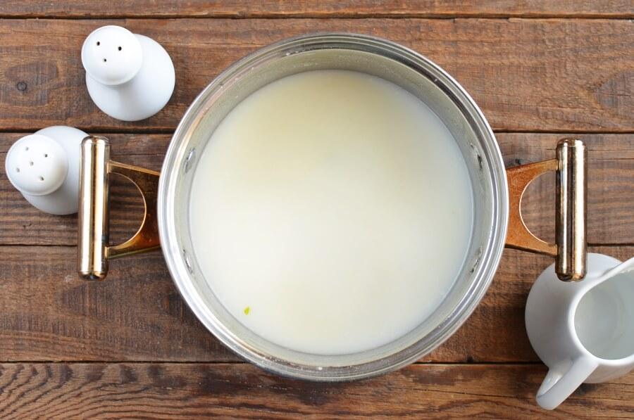 Cheddar Jack Potato Leek Soup recipe - step 4