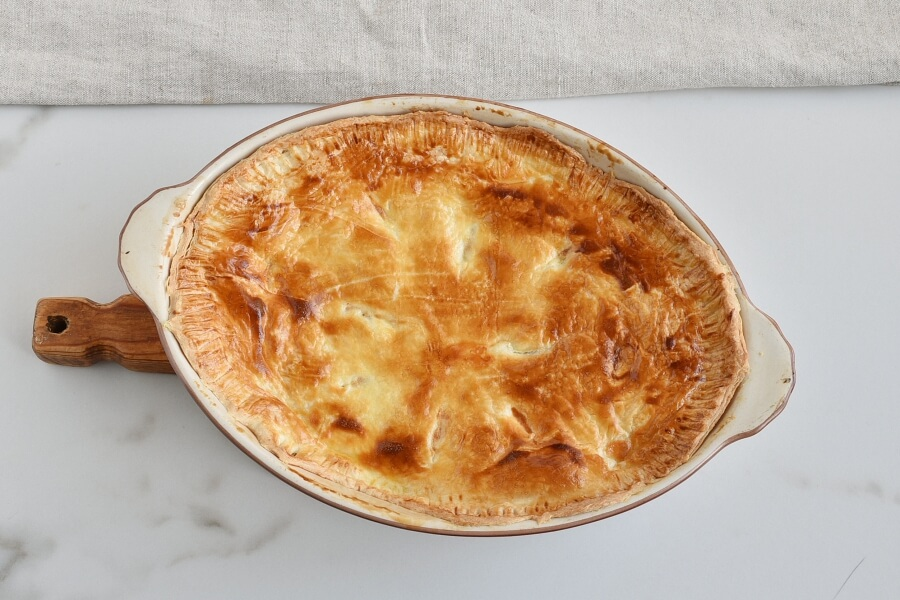 Chicken, Leek and Caerphilly Cheese Pie recipe - step 8