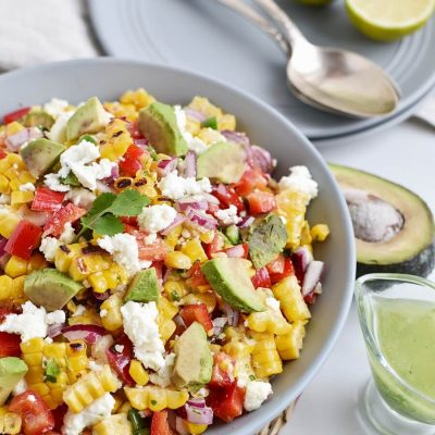 Corn Salad with Queso Fresco Recipes-Homemade Corn Salad with Queso Fresco- Easу CornSalad with Queso Fresco