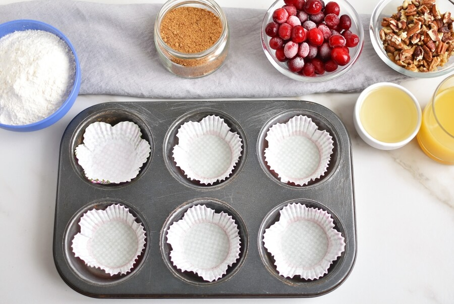 Cranberry Nut Muffins recipe - step 1