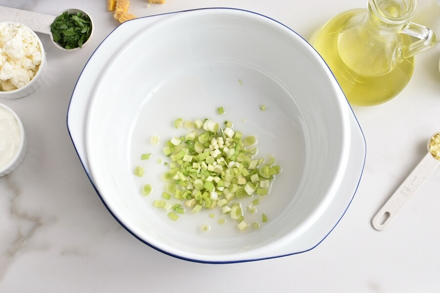 Creamy Corn Soup with Queso Fresco recipe - step 1