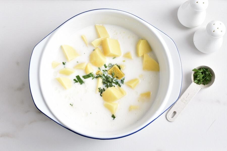 Creamy Corn Soup with Queso Fresco recipe - step 2