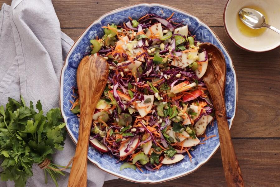 Crunchy Cabbage Salad recipe - step 4