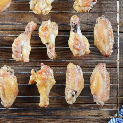 Garlic-Parmesan Wings recipe - step 3