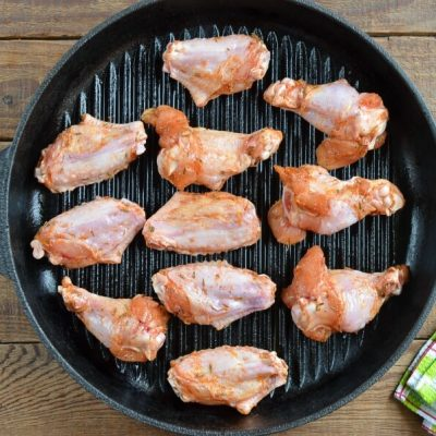 Grilled Chicken Wings recipe - step 4
