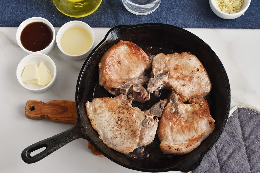 Honey Garlic Pork Chops recipe - step 3