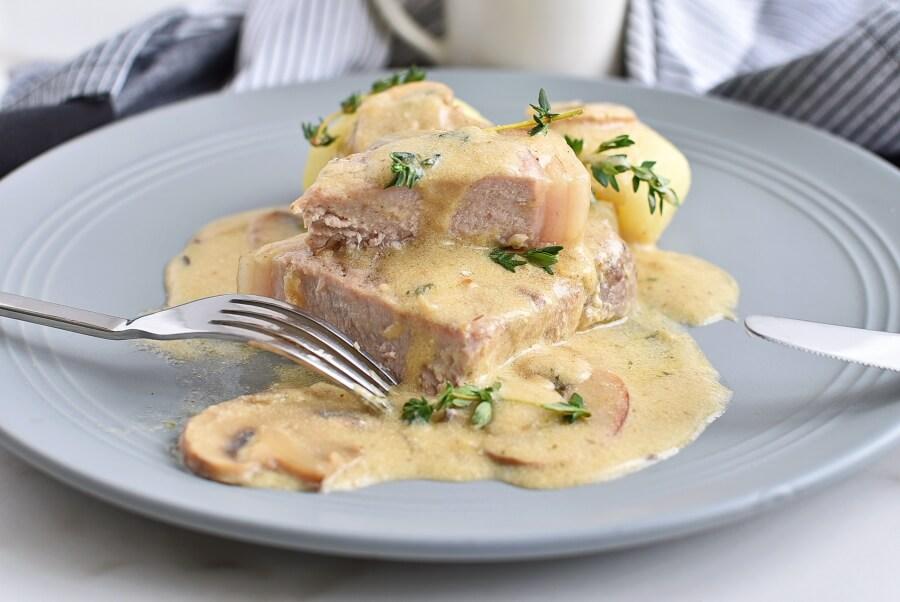 Instant Pot Pork Chops Recipes-Homemade Instant Pot Pork Chops-Delicious Instant Pot Pork Chops