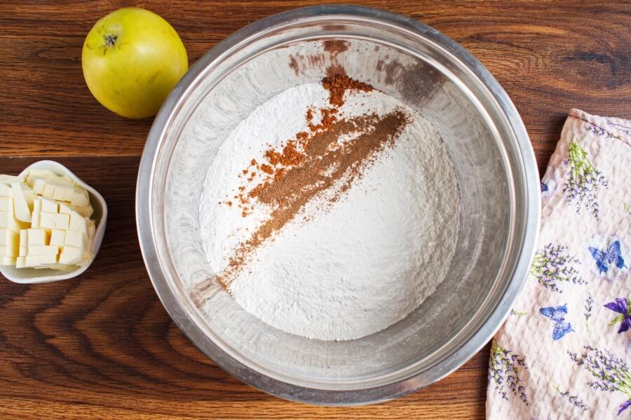 Irish Apple Cake with Custard Sauce recipe - step 2