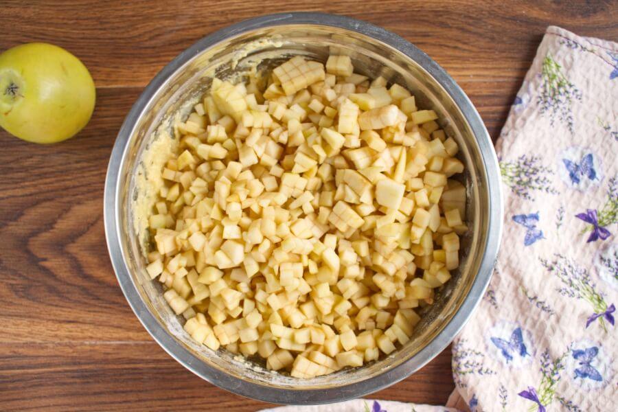 Irish Apple Cake with Custard Sauce recipe - step 5