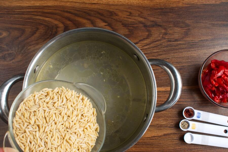 Italian Sausage Orzo recipe - step 1
