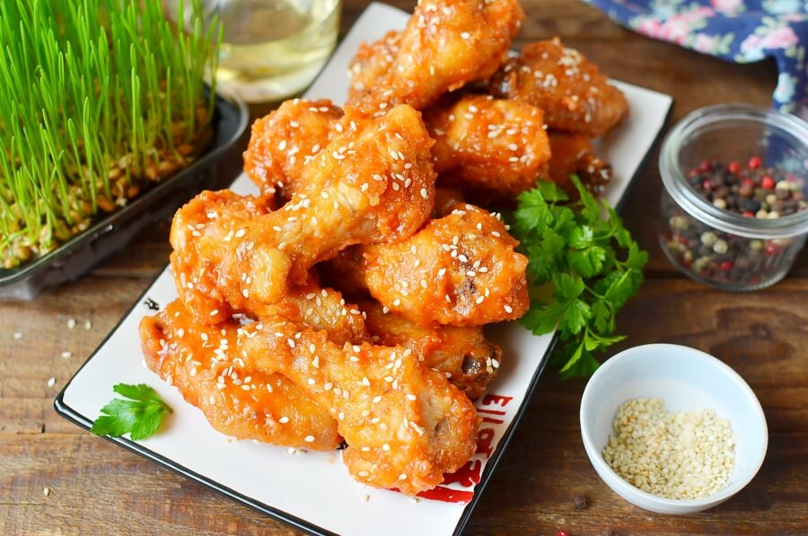 How to serve Korean Chicken Wings