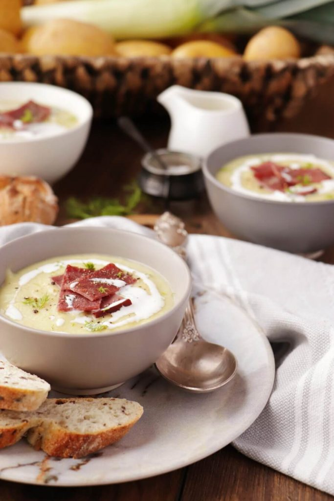 Leek and Fennel Soup Recipe-Fennel and Leek Soup-Potato, Leek and Fennel Soup