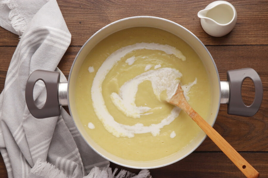 Leek and Fennel Soup recipe - step 6