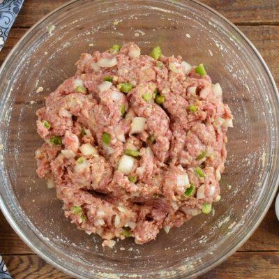 Meatloaf Cupcakes recipe - step 2