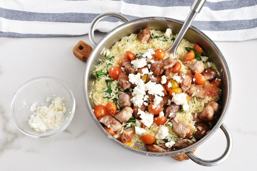 Mediterranean Pork and Orzo recipe - step 6