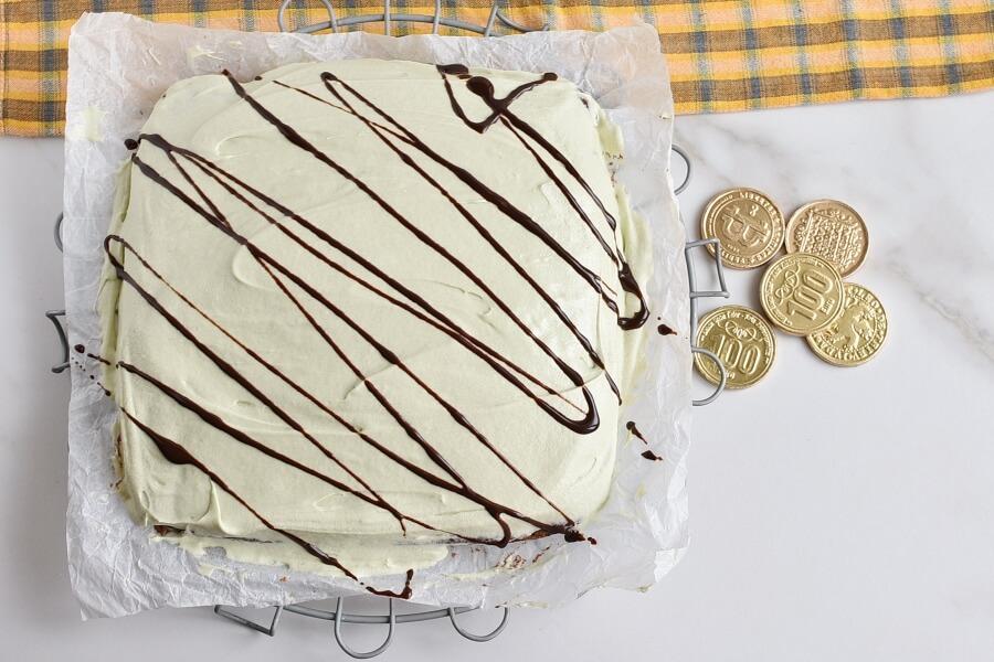 Mint Irish Cream Brownies recipe - step 8