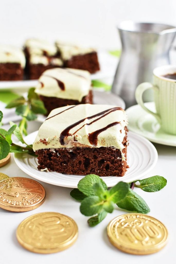 Chocolate treat for St Patrick's Day