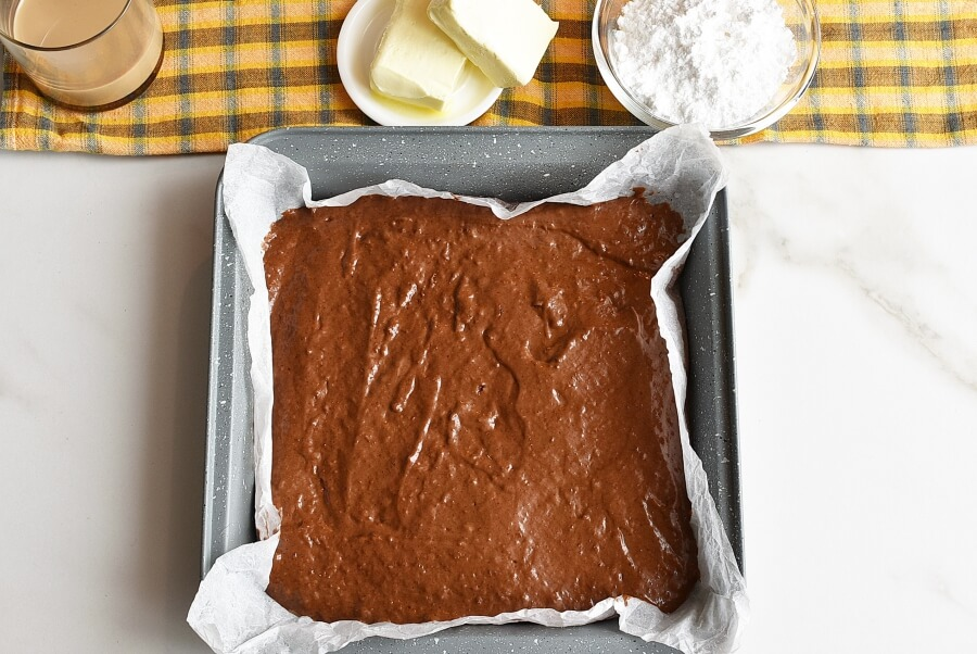 Mint Irish Cream Brownies recipe - step 3