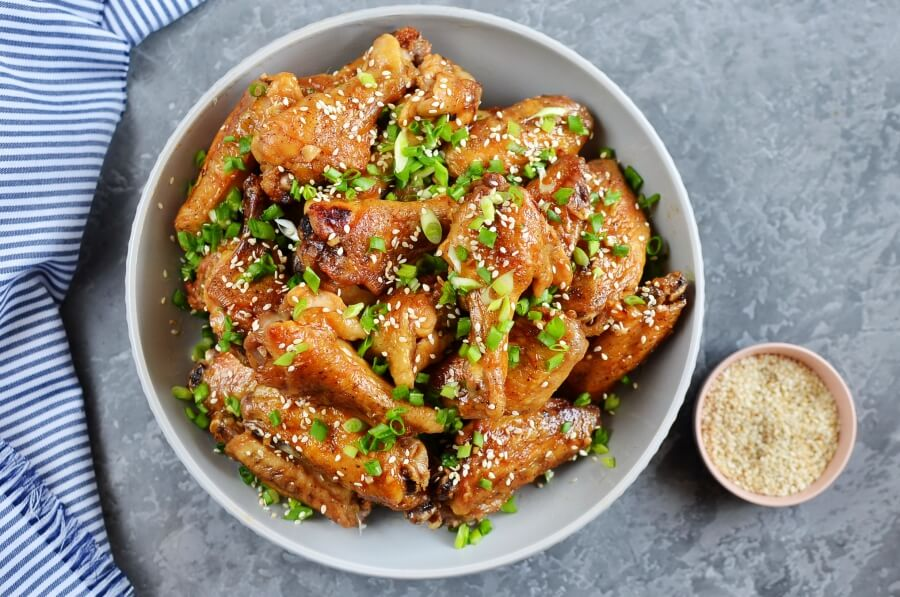 How to serve Mongolian Glazed Wings