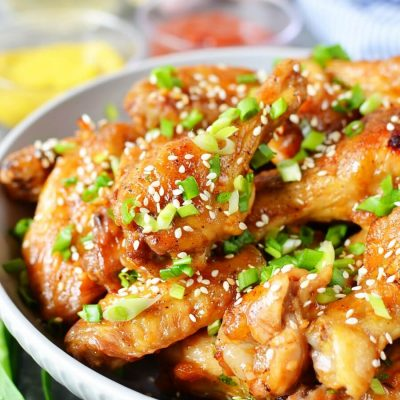 Mongolian Glazed Wings Recipe-How To Make Mongolian Glazed Wings-Delicious Mongolian Glazed Wings