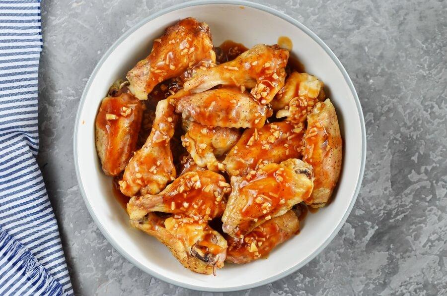Mongolian Glazed Wings recipe - step 5