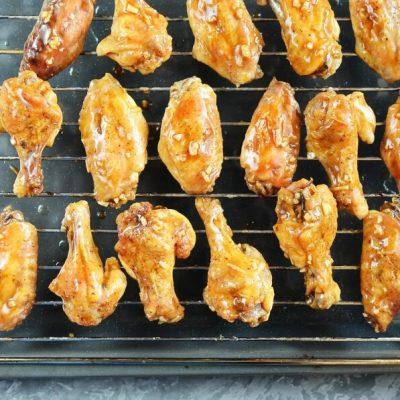 Mongolian Glazed Wings recipe - step 6