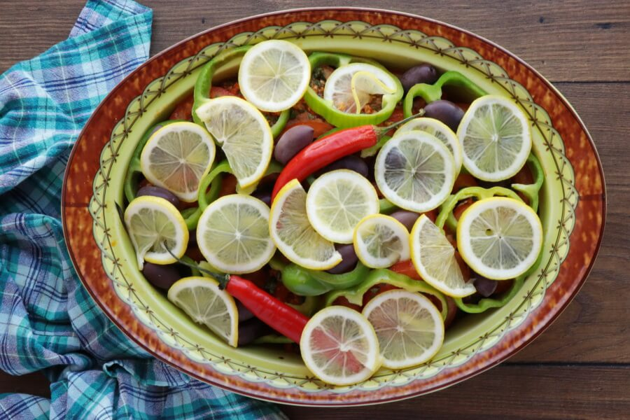 Moroccan Baked Fish Tagine with Vegetables recipe - step 9