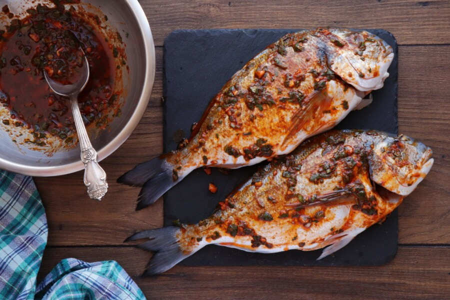 Moroccan Baked Fish Tagine with Vegetables recipe - step 2