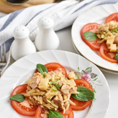 Orzo-Tuna Salad with Tomatoes Recipes-Homemade Orzo-Tuna Salad with Tomatoes-Easy Orzo-Tuna Salad with Tomatoes
