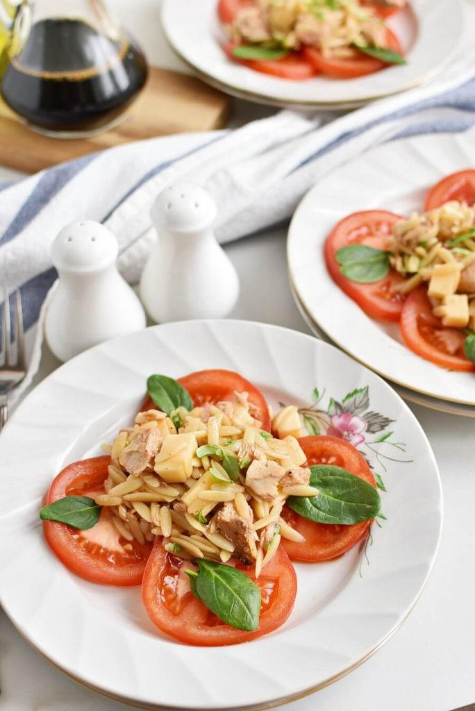 The Lunchtime Tuna and Tomato Orzo