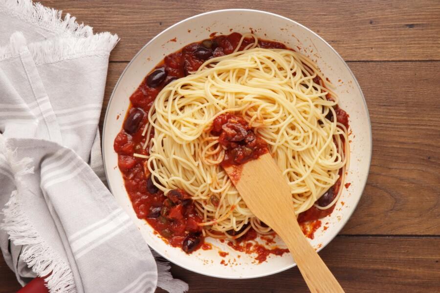 Pasta Puttanesca recipe - step 6