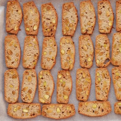 Pistachio, Lemon and Rosemary Biscotti recipe - step 10