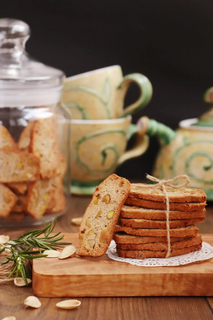 Nut, Citrus and Herb Italian Biscotti
