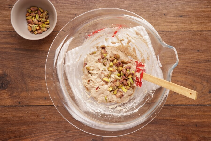 Pistachio, Lemon and Rosemary Biscotti recipe - step 5