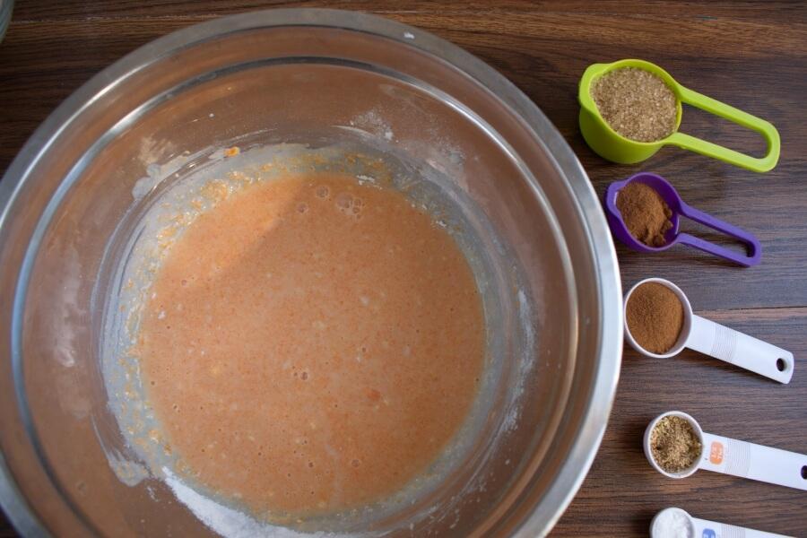 Pull-Apart Pumpkin Bread recipe - step 2