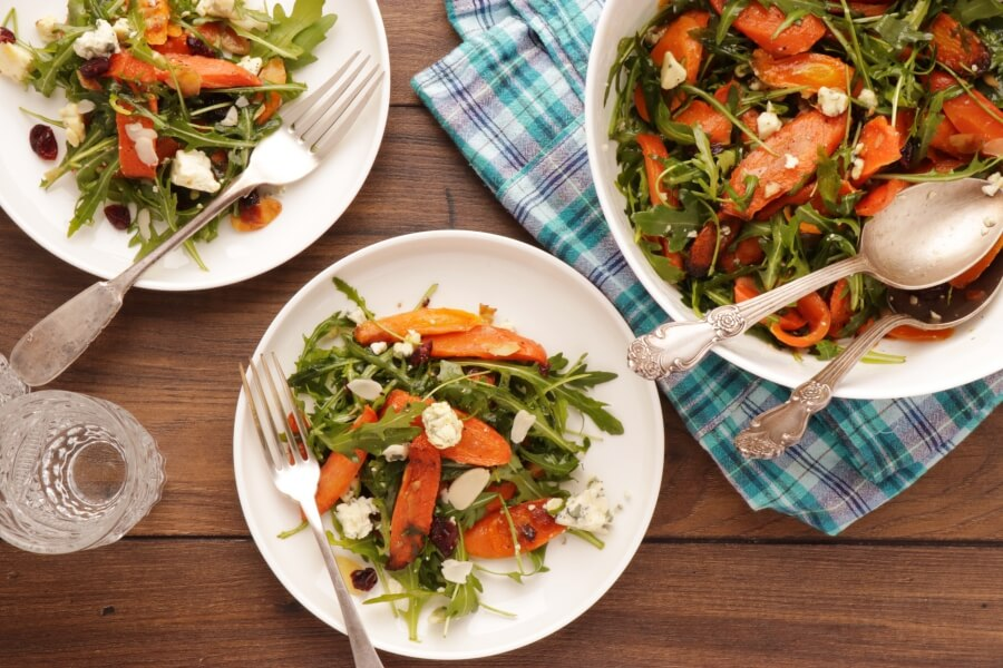 How to serve Roasted Carrot Salad