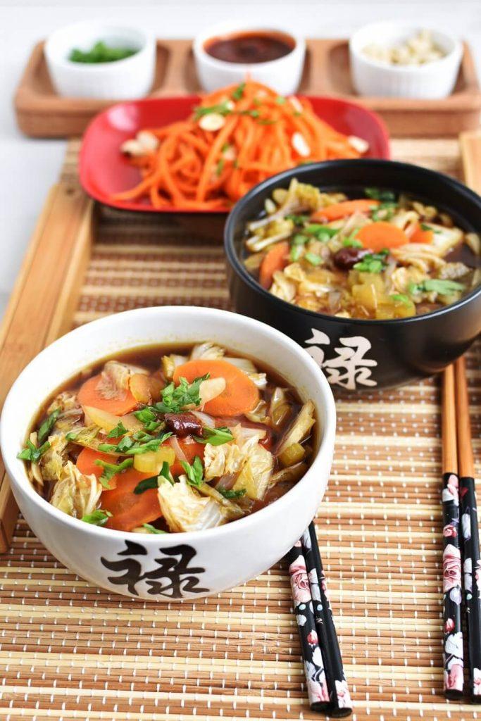 Delicious vegan ramen