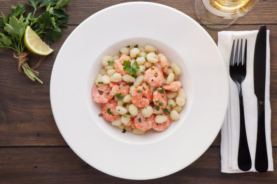 How to serve Shrimp Scampi Gnocchi