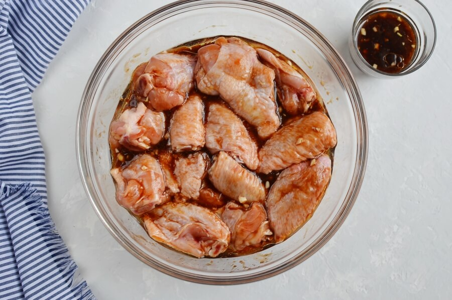 Spicy Asian Chicken Wing Marinade recipe - step 2