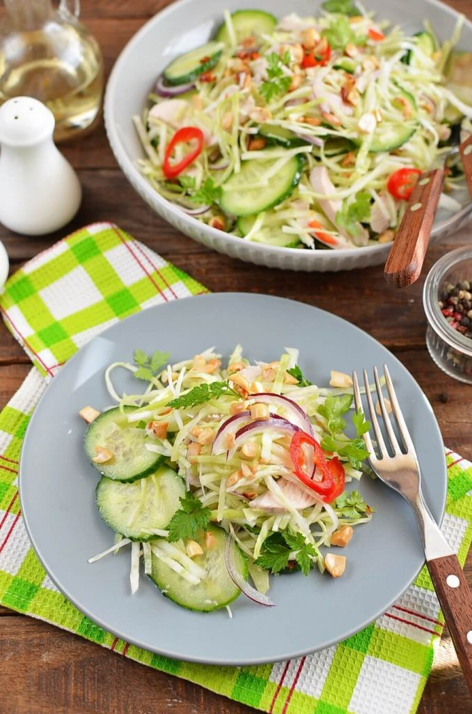 Lime and Chili Chicken Salad